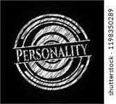 personality on chalkboard | Shutterstock .eps vector #1198350289