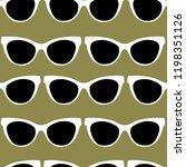 vector seamless pattern from... | Shutterstock .eps vector #1198351126