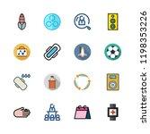 training icon set. vector set... | Shutterstock .eps vector #1198353226