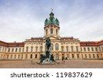 schloss charlottenburg ... | Shutterstock . vector #119837629