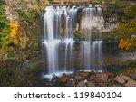 webster falls during autumn | Shutterstock . vector #119840104