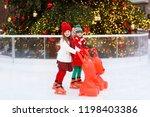 Kids Ice Skating In Winter Park ...