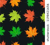 texture sheet sets the seasons  ... | Shutterstock . vector #1198421656