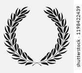 icon laurel wreath  spotrs... | Shutterstock . vector #1198422439