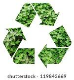 fresh green mint representing... | Shutterstock . vector #119842669