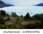 incredible view of perito... | Shutterstock . vector #1198431946