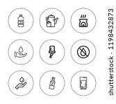 purity icon set. collection of... | Shutterstock .eps vector #1198432873