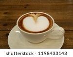 closed up a cup of hot... | Shutterstock . vector #1198433143