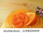 closed up delectable mandarin... | Shutterstock . vector #1198434949