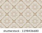 floral pattern. vintage... | Shutterstock .eps vector #1198436680