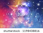 astrological new year 2019... | Shutterstock .eps vector #1198438816