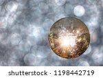 party lights disco ball | Shutterstock . vector #1198442719