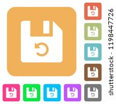 undo last file operation flat...   Shutterstock .eps vector #1198447726