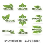 Vector Collection Of Leaf Sign...