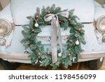 Classic Christmas Wreath On...