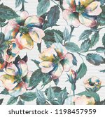 joint colorful flower concept... | Shutterstock . vector #1198457959