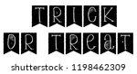 hand drawn grunge trick or...   Shutterstock .eps vector #1198462309