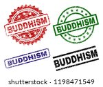 buddhism seal prints with... | Shutterstock .eps vector #1198471549