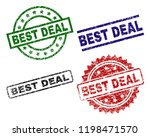 best deal seal stamps with... | Shutterstock .eps vector #1198471570