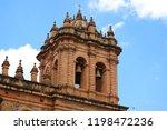 the belfry of iglesia de la... | Shutterstock . vector #1198472236