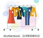 flat design vector illistration ... | Shutterstock .eps vector #1198508413