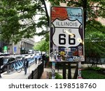 chicago  usa   june 06  2018 ... | Shutterstock . vector #1198518760