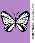 insect butterfly vector... | Shutterstock .eps vector #1198532449