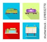 vector illustration of train... | Shutterstock .eps vector #1198532770