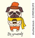 vector illustration card of... | Shutterstock .eps vector #1198536193