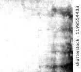 distress grunge halftone... | Shutterstock .eps vector #1198554433