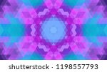 geometric design  mosaic of a... | Shutterstock .eps vector #1198557793
