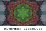 geometric design  mosaic of a... | Shutterstock .eps vector #1198557796
