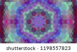 geometric design  mosaic of a... | Shutterstock .eps vector #1198557823