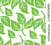 vector seamless floral pattern... | Shutterstock .eps vector #1198559890