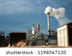 factory of sawdust | Shutterstock . vector #1198567120