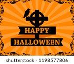 happy halloween october 31st.... | Shutterstock .eps vector #1198577806