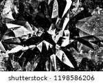 black and white grunge abstract ... | Shutterstock . vector #1198586206