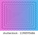 abstract geometric background... | Shutterstock .eps vector #1198595686