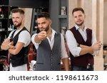 Three Handsome Hairstylists...