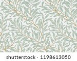 willow bough by william morris  ... | Shutterstock .eps vector #1198613050