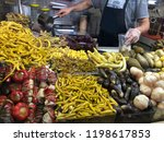 traditional turkish pickles of... | Shutterstock . vector #1198617853