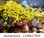 traditional turkish pickles of... | Shutterstock . vector #1198617859