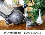 closeup of upright vacuum... | Shutterstock . vector #1198626436