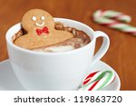 Gingerbread Cookie Man In A Ho...