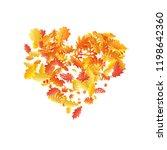 oak  maple  wild ash rowan... | Shutterstock .eps vector #1198642360