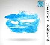blue brush stroke and texture....   Shutterstock .eps vector #1198652983