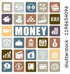 money icons set | Shutterstock .eps vector #1198654096