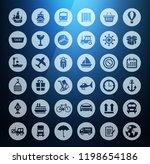 collection shipping ... | Shutterstock .eps vector #1198654186