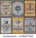 car service  auto spare parts... | Shutterstock .eps vector #1198657360