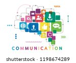 vector illustration of a... | Shutterstock .eps vector #1198674289